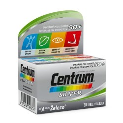 Centrum silver+Lutein 30 tableta