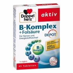 Doppelherz aktiv B – Kompleks + Folna kiselina