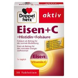 Doppelherz aktiv Gvožđe + Vitamin C + Histidin + Folna kiselina