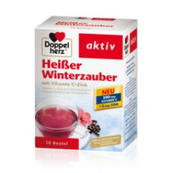 Doppelherz aktiv Hibiskus toplo – hladni instant čaj sa Vitaminom C + Cink