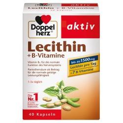 Doppelherz aktiv Lecitin + Vitamini B grupe