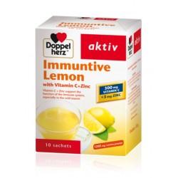 Doppelherz aktiv Limun toplo – hladni instant čaj sa Vitaminom C + Cink