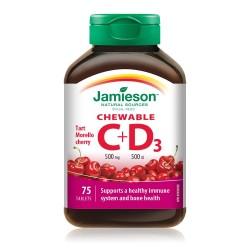 Jamieson C+D (500mg+500IJ) 75tbl