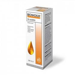 Bronhoklir sirup za pušače
